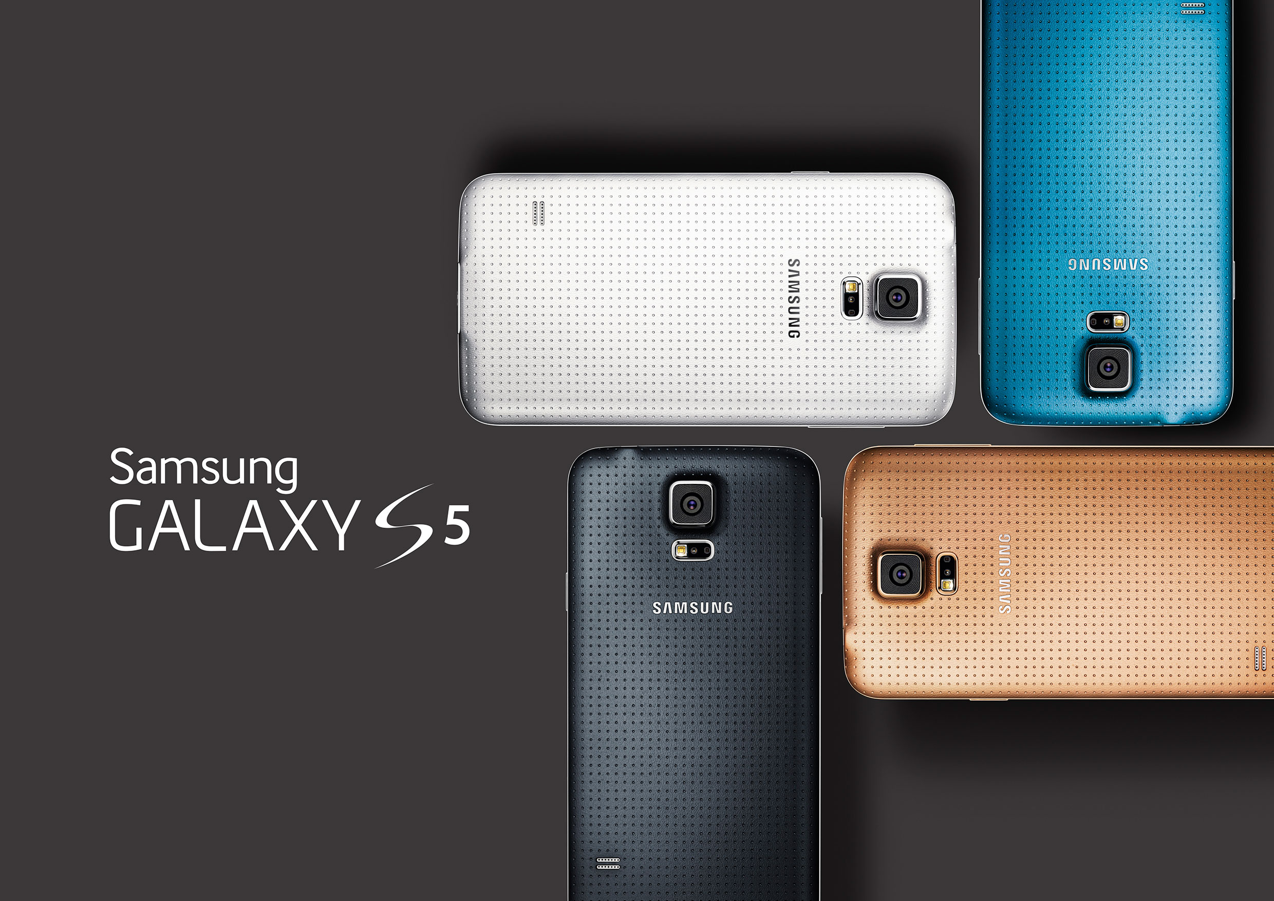 Samsung unveils Samsung Galaxy S5 at Mobile World Congress(MWC) 2014 Barcelona