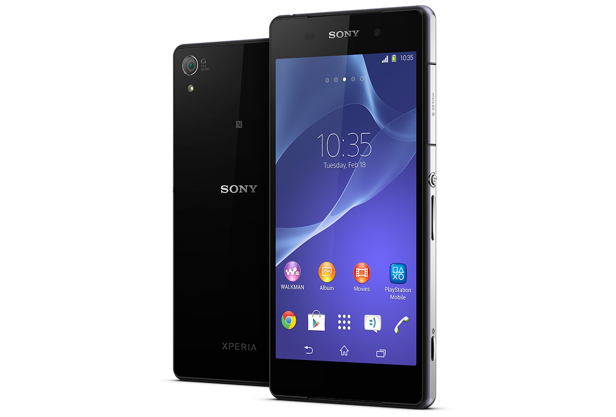 Sony unveils Sony Xperia Z2 at Mobile World Congress(MWC) 2014
