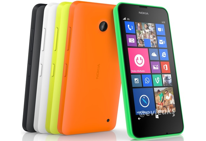 Nokia Lumia 630 Press Image Reveals in 5 Color Version