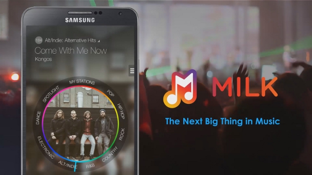 "Samsung launched its own Music Streaming App "" Milk Music """