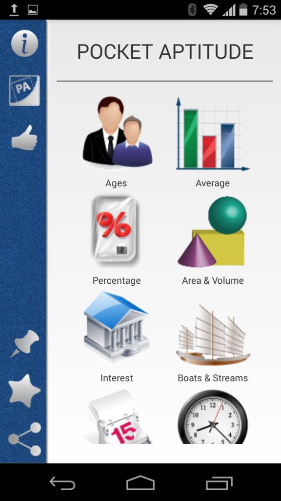 Pocket Aptitude - AndroidVenture.com